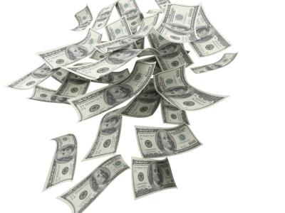 fallingmoney100dollarbills